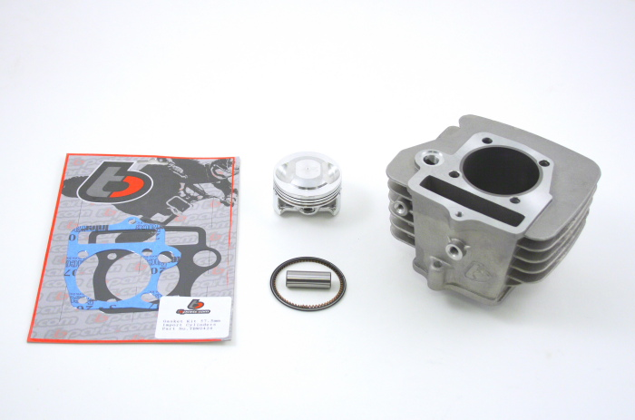 146cc (57mm) Bore Kit for Chinese 124/140cc Engines with Big Valve Cylinder  Heads (27/23mm or 30/23mm):