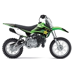 KAWASAKI KLX110 2015 ROCKSTAR GRAPHIC KIT
