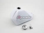 Gas Tank, white - AFT - 89-99 Models
