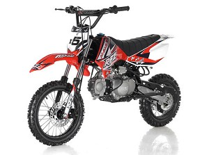 APOLLO RFZ-X5 125cc Pit Bike / Dirt Bike red